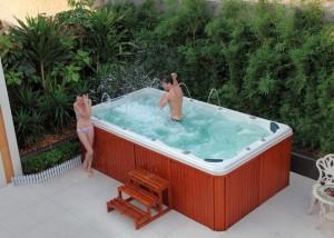 Shallow Swim Spa